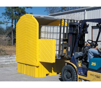 IBC HardTop Containment System - with Drain-3