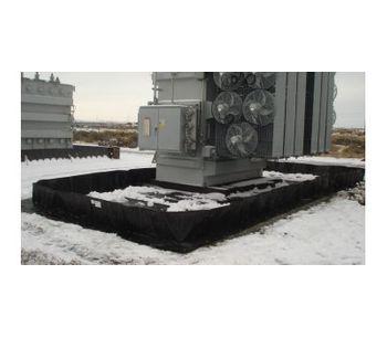 Spill Containment L-Bracket Berm - 20` x 30` x 12