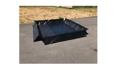 One Step Spill Containment Berm - 5` x 5` x 12