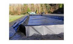 One Step Spill Containment Berm - 15` x 66` x 12