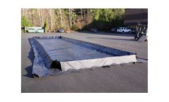 One Step Spill Containment Berm - 12` x 45` x 12