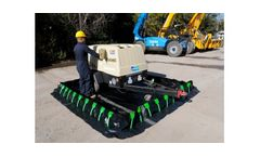 Ultra-Containment Stake Wall Spill Berm - 15` x 40` x 12