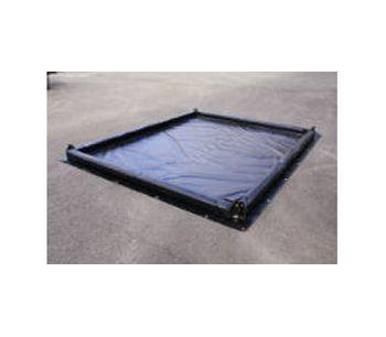 Foam Wall Spill Containment Berm - 10` x 10` x 4