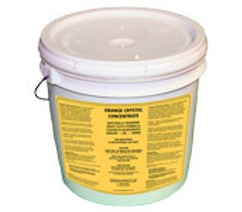 Orange Crystal Powder Degreaser Concentrate (10 lb. Pail)