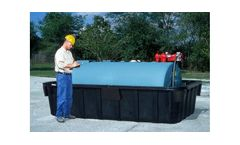 Tank Containment Sump Ultra 1000 with 2