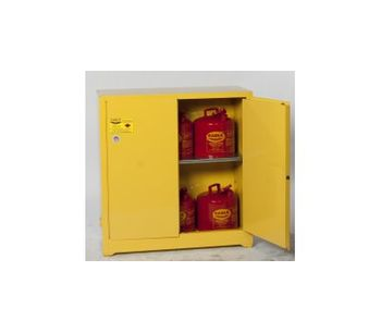 Eagle - Model 1932 - Flammable Storage Cabinet - 30 Gal - Manual Close