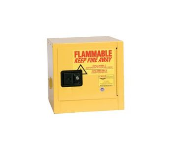 Eagle - Model 1901 - Flammable Safety Cabinet - 2 Gallon - Manual Close