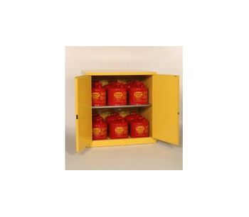 Eagle - Model 6410 - Flammable Workbench Safety Cabinet - 60 Gallon