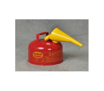 Eagle - Model UI-20-FS - Gas Can with F-15 Funnel - 2 Gallons