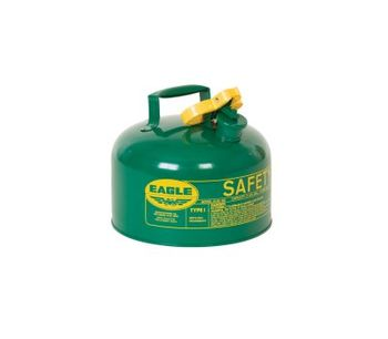 Eagle - Metal Type I Safety Can - Green 2.5 Gallons