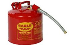 Eagle - 5 Gallon Safety Can with 7/8