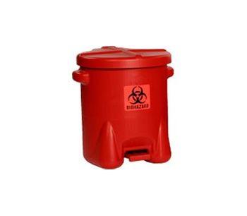 Eagle - Model 947BIO - HDPE Biohazardous Waste Can