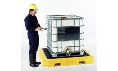 UltraTech - Model P4 Plus - Spill Pallet 9631 - 4 Drum - with Drain