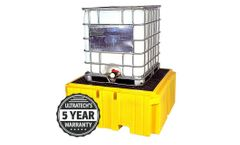 UltraTech - Model Plus 1157 - IBC Spill Pallet - No Drain