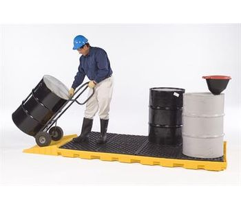 UltraTech - Model 1075 - 8 Drum Spill Deck
