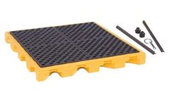 UltraTech - Model 1072 - P4 Low Profile Modular Spill Deck - 4 Drum