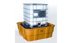 Eagle - Model EM-1683D - All Poly IBC Spill Containment Unit - With Drain