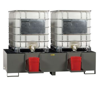 Little Giant - Model LG-SST-IBC-2 - IBC Containment & Dispensing Station - Double Unit
