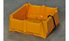 Eagle Quik-Deploy SpillNEST - Model T8003FS - Flexible Folding Spill Containment - 2` x 4` x 6`