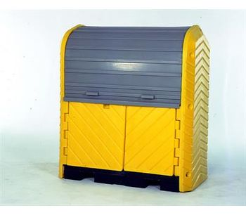 Ultra-Hard - Model 9612 - Top P2 Plus Spill Containment Pallet - 2 Drum - No Drain