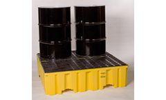 Eagle - Model 1640 - Spill Containment Pallet - 4 Drum