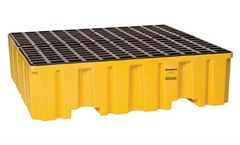 Eagle - Model 1640ND - Spill Containment Pallet - 4 Drum - No Drain