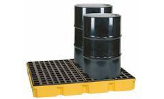 Eagle - Model 1635D - Spill Platform - Modular - 4 Drum - With Drain