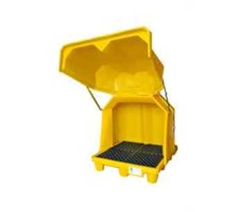 Model 1082 - Ultra-HardTop P2 Spill Containment Pallet - 2 Drum - No Drain