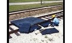 Ultra-Track Pan - Railroad Spill Containment - Video