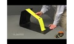 Justrite QuickBerm with Inside Wall Supports - Video