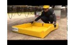 Mini Foam Wall Ultra Containment Berm - Video
