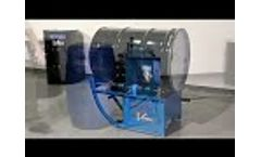 Morse 201 Series Portable Drum Rollers 3 - Video