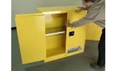 Flammable Safety Cabinets from Justrite - Video