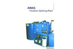 AWAS - Model CH - Emulsion Splitting Plants (Batch System) Brochure