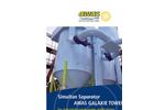 AWAS Galaxie Tower Simultan Separator for Industrial Waste Water Applications Brochure