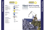 AWAS - Waste Water Treatment Plant for Metal Recycling System Brochure