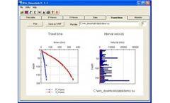 Geo2X - Version Win_Downhole - Downhole Seismics Data Inversion Software