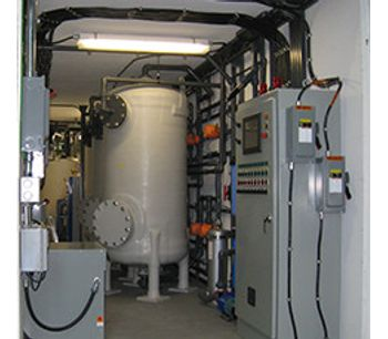 Current Water - Model AmmEL - Ammonia Removal Technology