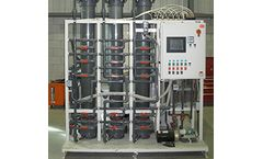 Current Water - Model AmmEL-LC - Lower Concentrations Ammonia Removal System