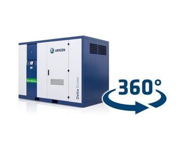 Gas Screw Compressor Units With Direct Drive-1