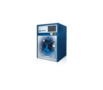 Screw Compressor Units with Belt Drive-1