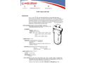 Auto-klean - Model 10 GA - Self Cleaning Water Filter Brochure