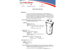 Auto-klean - Model 10 GA - Self Cleaning Water Filter Brochure