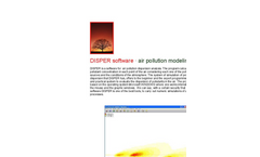 Canarina DISPER software (air pollution modeling)
