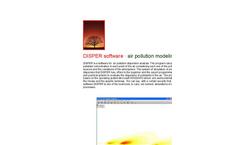 Canarina DISPER software (air pollution modeling)