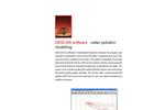 Canarina DESCAR (water pollution modeling) software