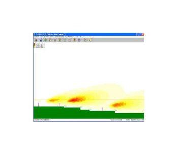 Canarina DISPER - Air Quality Dispersion Model · Point