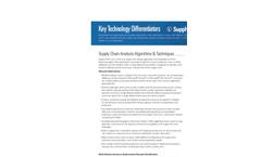 LLamasoft Supply Chain Guru Differentiators Datasheet