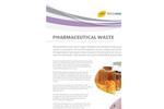Pharmaceutical Waste Disposal Brochure
