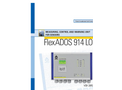 FlexADOS - Model 914 LON - Measuring Control and Warning Unit for Sensors- Brochure
